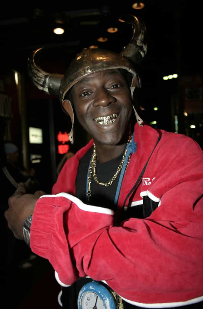 Flavor Flav is listed (or ranked) 4 on the list 23 Celebrities Who Totally Sold Out