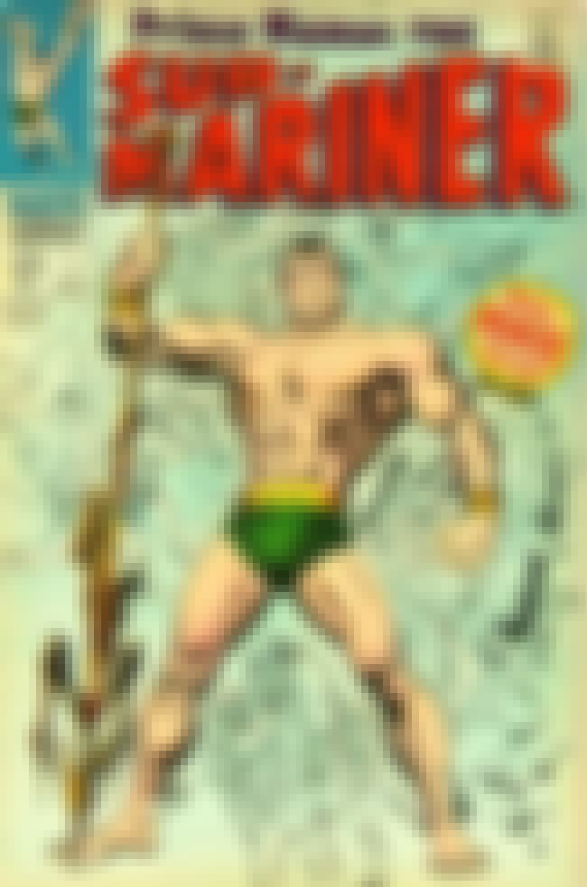 Namor, the Sub-Mariner is listed (or ranked) 2 on the list Gayest Costumes in Comic Book History