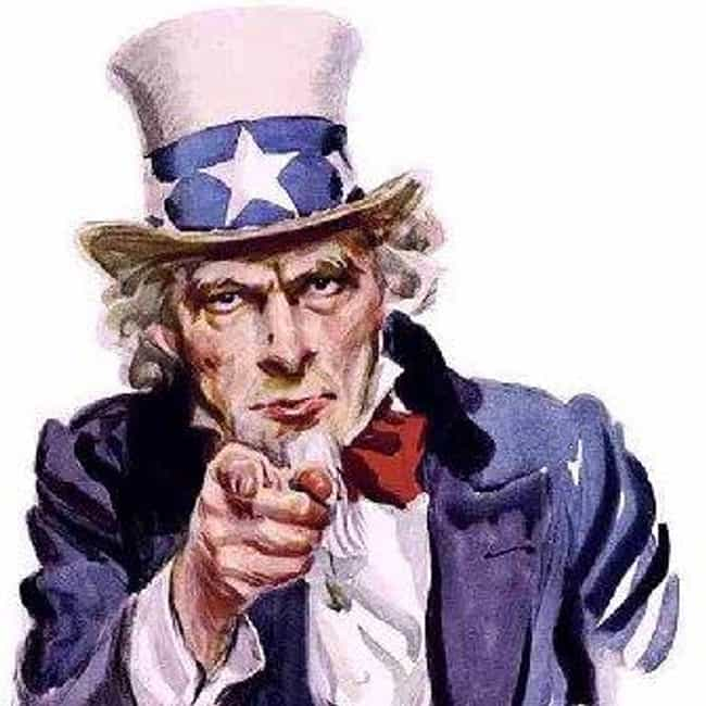 Uncle Sam is listed (or ranked) 4 on the list The Most Iconic and Influential Works of Art