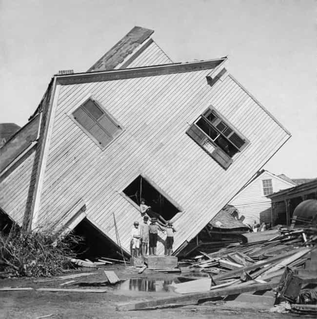 Galveston Hurricane (1900) is listed (or ranked) 3 on the list The Deadliest, Most Destructive Hurricanes Ever