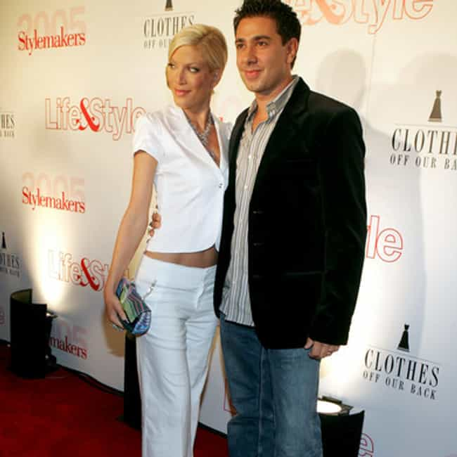 Charlie Shanian is listed (or ranked) 2 on the list Tori Spelling's Loves & Hookups