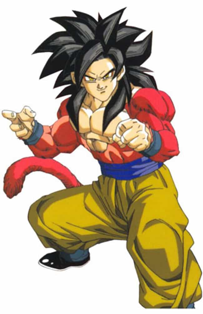 Super Saiyan 4 (Dragonba... is listed (or ranked) 3 on the list 5 Most Desirable Abilities in Anime