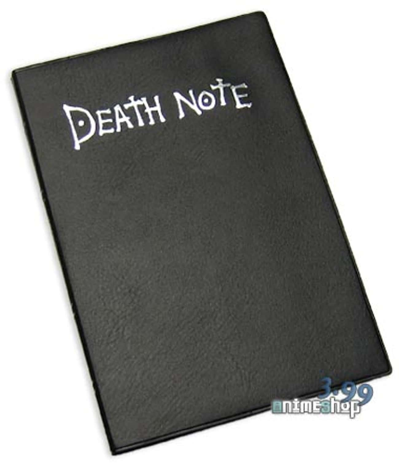 Death Note (Death Note) is listed (or ranked) 2 on the list 5 Most Desirable Abilities in Anime