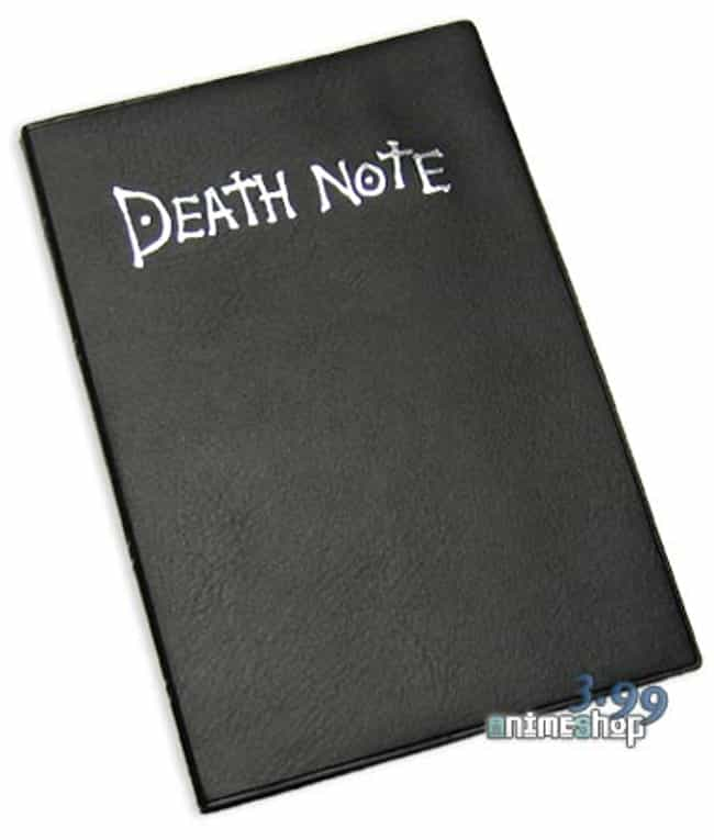 Death Note (Death Note) ... is listed (or ranked) 2 on the list 5 Most Desirable Abilities in Anime