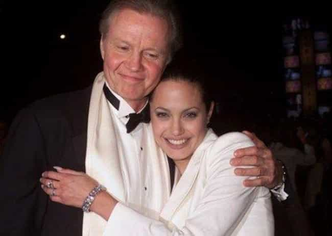 Angelina Jolie And Jon Voight is listed (or ranked) 3 on the list Father-Daughter Hollywood Scandals