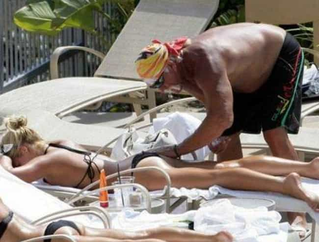Brooke Hogan And Hulk Hogan is listed (or ranked) 7 on the list Father-Daughter Hollywood Scandals