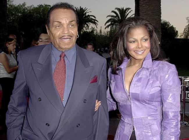 Janet Jackson And Joe Jackson is listed (or ranked) 4 on the list Father-Daughter Hollywood Scandals