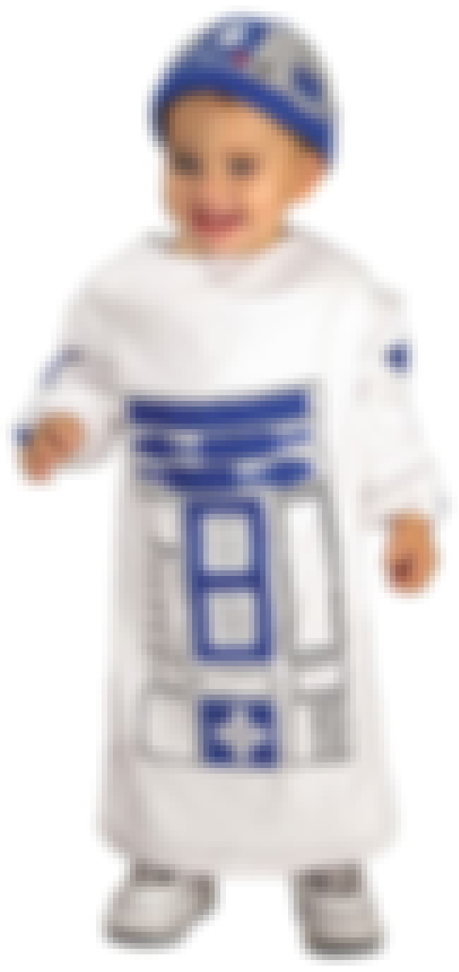 Toddler R2D2 is listed (or ranked) 3 on the list Halloween Costume Ideas, Baby and Toddler Halloween Costumes