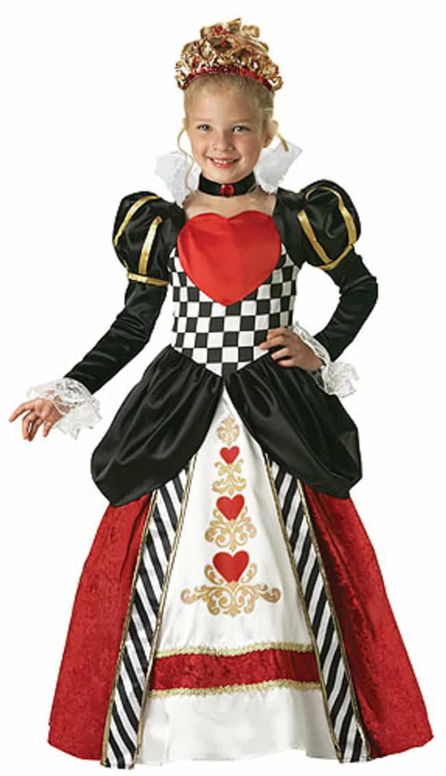 Queen of Hearts is listed (or ranked) 4 on the list Halloween Costumes for Girls | Halloween Costume Ideas
