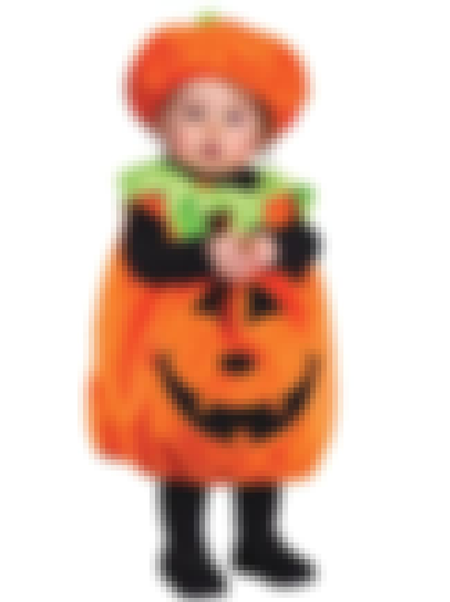 Pumpkin is listed (or ranked) 8 on the list Halloween Costume Ideas, Baby and Toddler Halloween Costumes