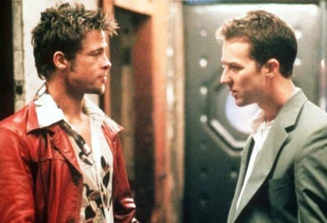 Tyler Durden in Fight Club is listed (or ranked) 3 on the list The Top 10 Best Movie Anti-Heroes