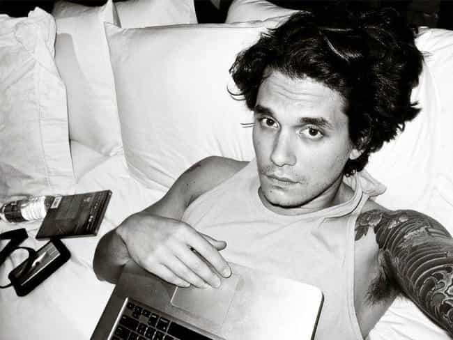 I can outgay this guy, right n... is listed (or ranked) 3 on the list The 15 Douchiest John Mayer Quotes