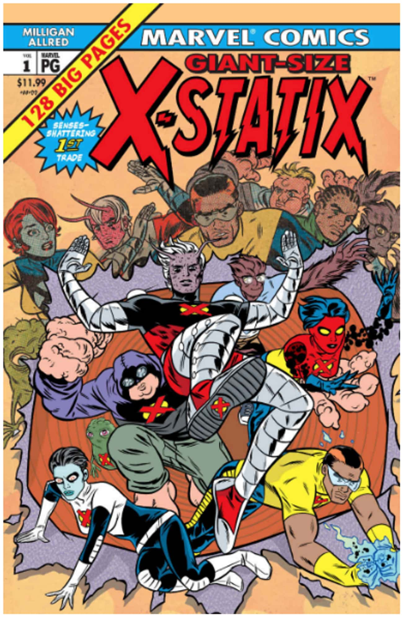 Phat and Vivisector from XStat is listed (or ranked) 8 on the list 10 Important Gay Moments in Comic Book History