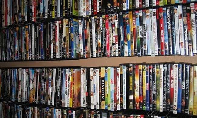 20,000 DVDs is listed (or ranked) 4 on the list Kim Jong-il Owned Some Cool S*#t!