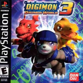 Digimon World 2003 is listed (or ranked) 2 on the list PlayStation 1 Games