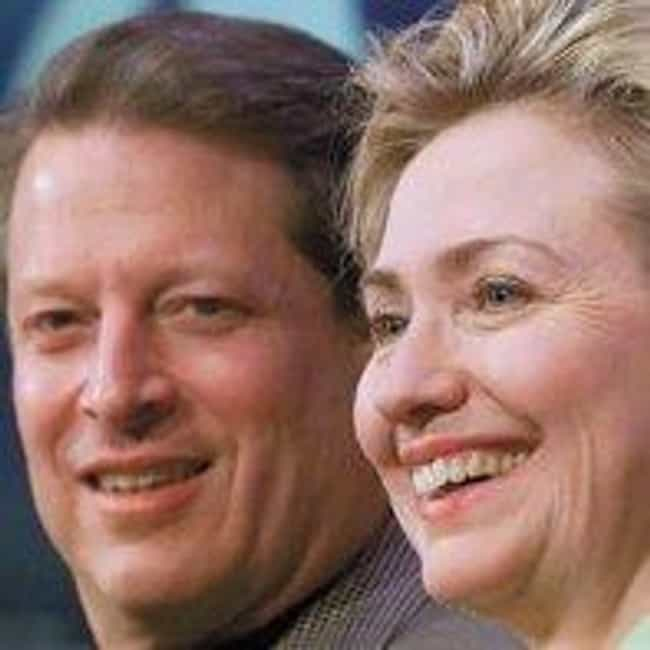 Hillary clinton, I want to fig... is listed (or ranked) 3 on the list Al Gore-isms: Funny Al Gore Quotes