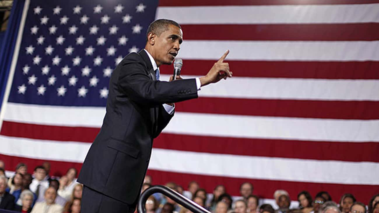...ten thousand people died -- is listed (or ranked) 2 on the list Barack Obama-isms: The Biggest Obama Gaffes