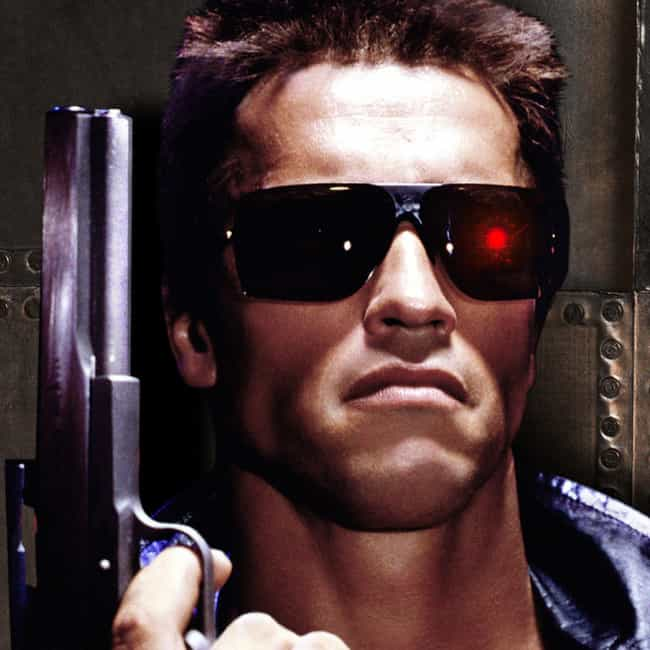 "In ""The Terminator&... is listed (or ranked) 1 on the list Arnie-isms: Funny Arnold Schwarzenegger Quotes"