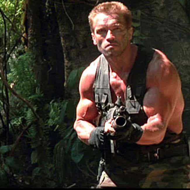 "In ""Predator"" ... is listed (or ranked) 3 on the list Arnie-isms: Funny Arnold Schwarzenegger Quotes"