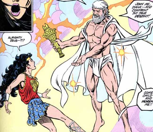 Zeus is listed (or ranked) 2 on the list The Top 10 Comic Book Gods Worth Worshipping