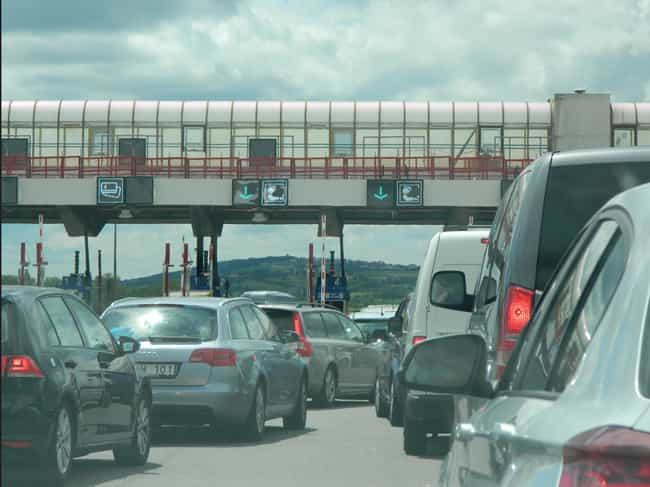 Lyon to Paris, France is listed (or ranked) 2 on the list The 7 Longest Traffic Jams in History