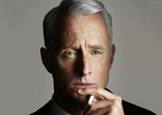 """""""When God closes a door,... is listed (or ranked) 1 on the list The 25 Most Sexist Roger Sterling Quotes"""