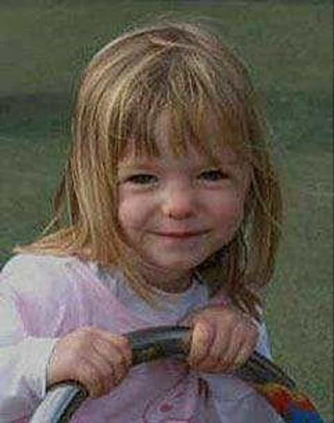 Madeleine McCann is listed (or ranked) 3 on the list People Who Disappeared Mysteriously
