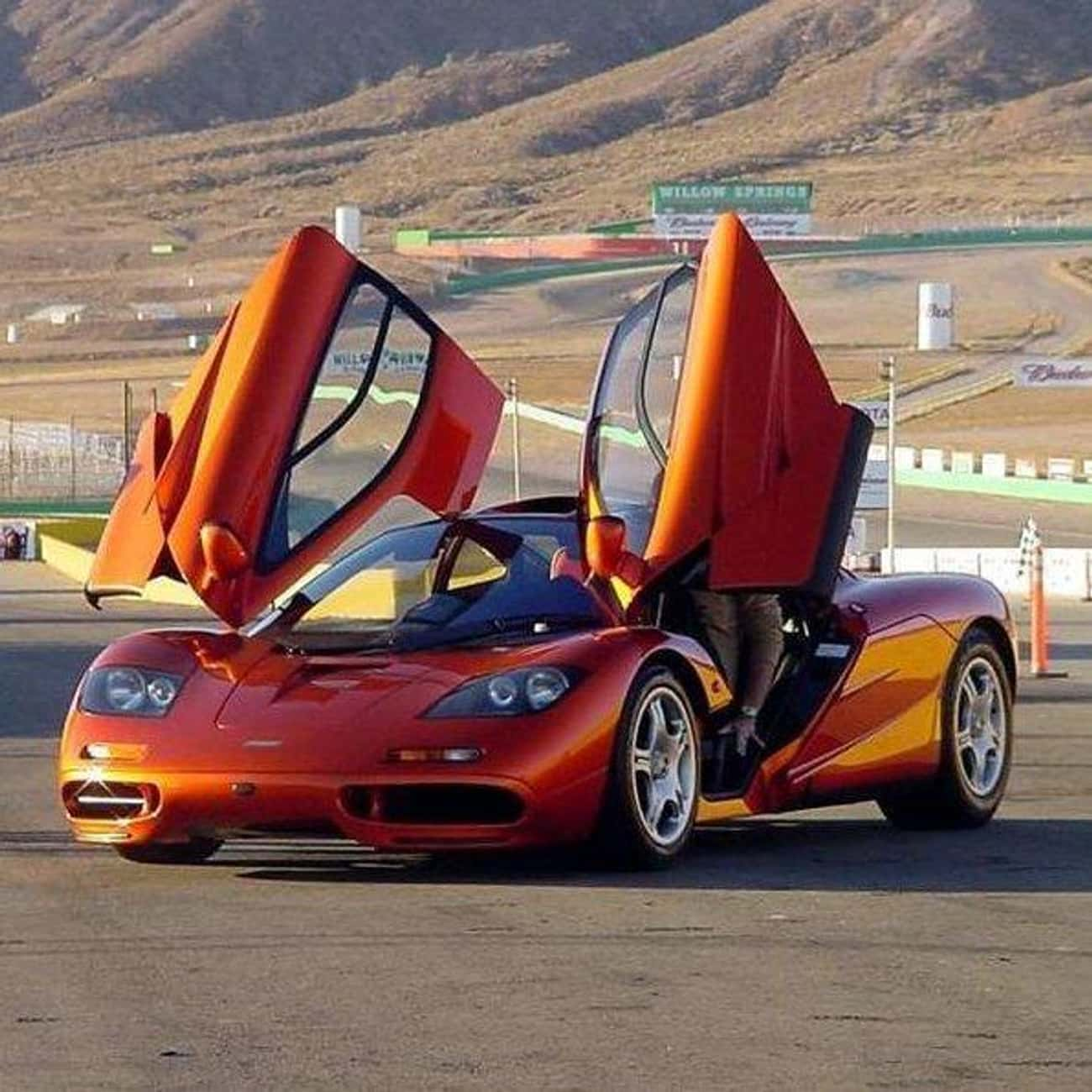 McLaren F1 is listed (or ranked) 4 on the list The Coolest Cars In The World