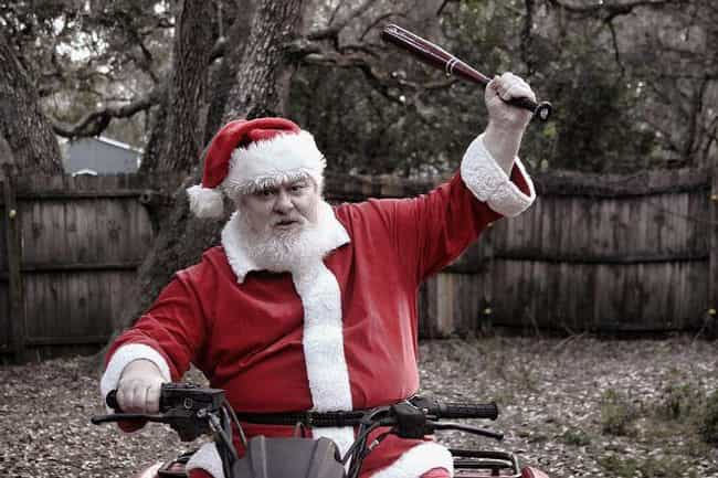Santa Goes After A 74-Ye... is listed (or ranked) 1 on the list The Top Crimes Committed By Guys in Santa Suits