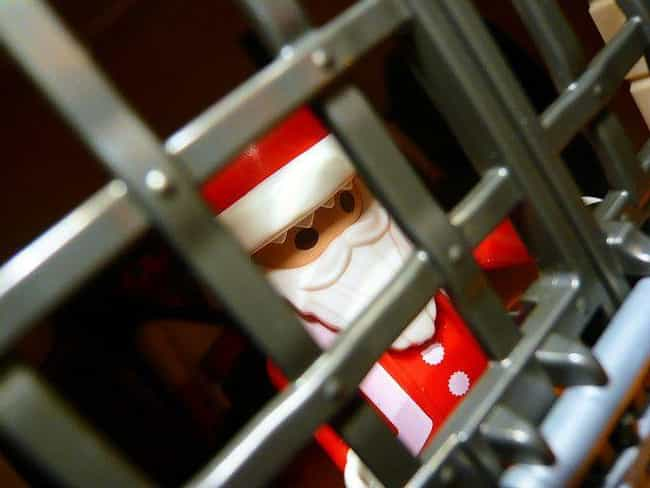 Children Cry As Santa Go... is listed (or ranked) 4 on the list The Top Crimes Committed By Guys in Santa Suits