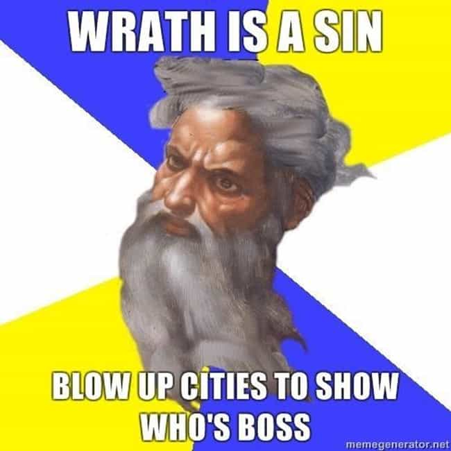 is listed (or ranked) 2 on the list God is an Epic Troll: The Best of the Advice God Meme
