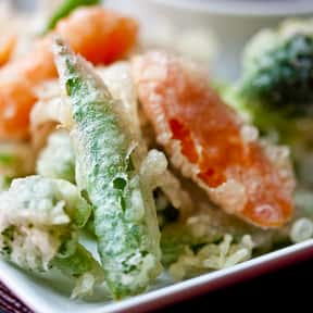 Vegetable Tempura is listed (or ranked) 19 on the list The Best Pescatarian Foods