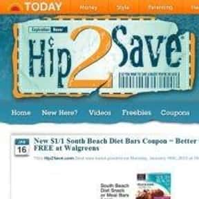 hip2save.com is listed (or ranked) 9 on the list The Best Coupon Websites