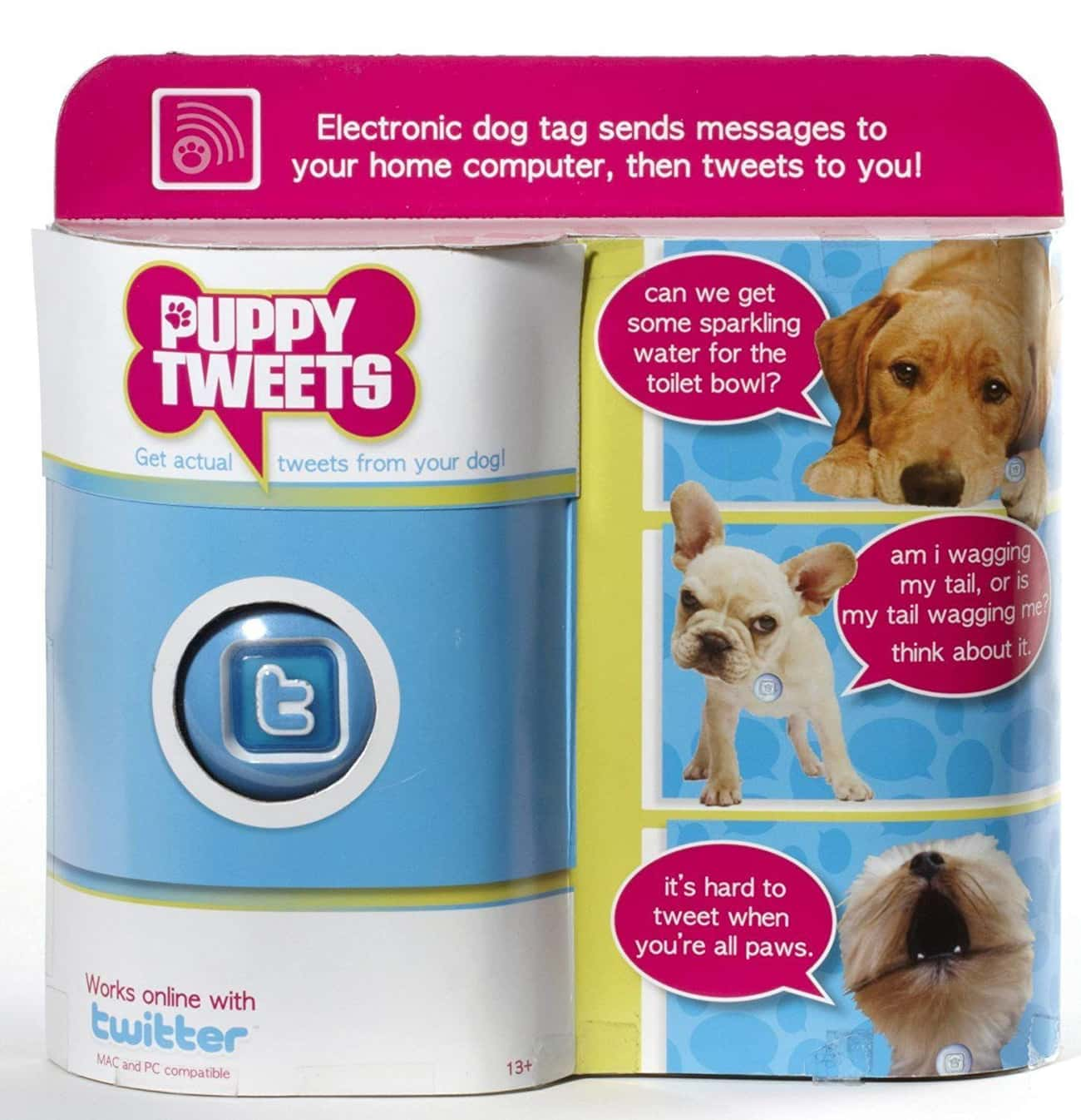An Accessory for Your Dog's Twitter Account