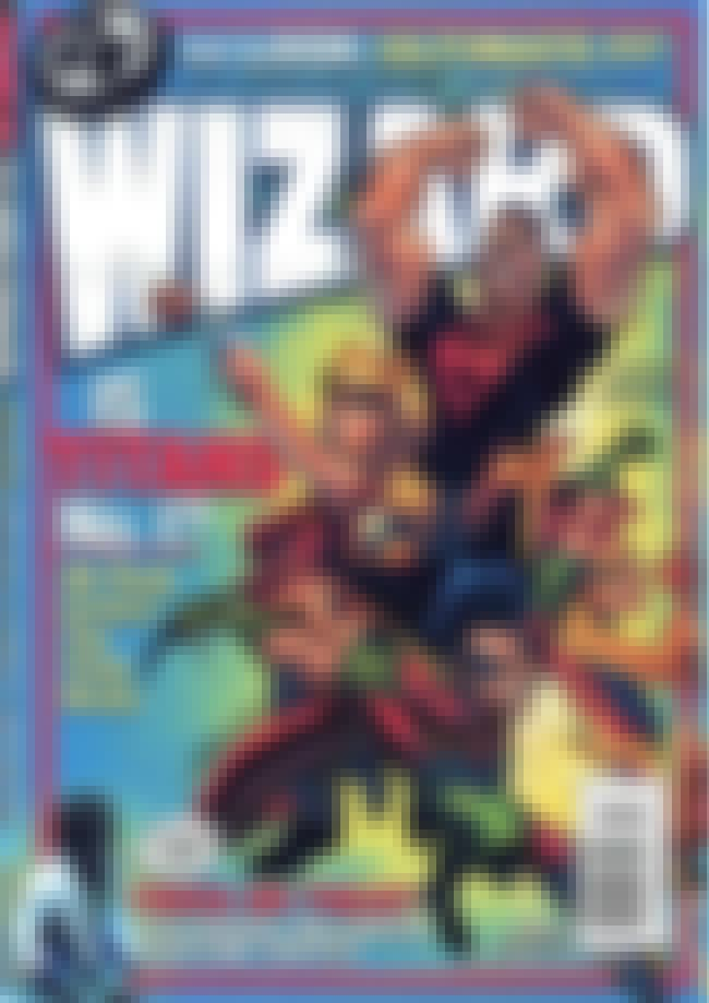 Teen Titans Drawn By a Primari... is listed (or ranked) 5 on the list The Greatest Wizard Magazine Covers By J. Scott Campbell