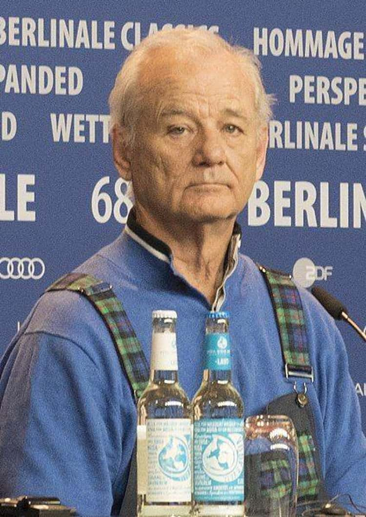 Bill Murray Surprise Bartends At Shangri-La During SXSW