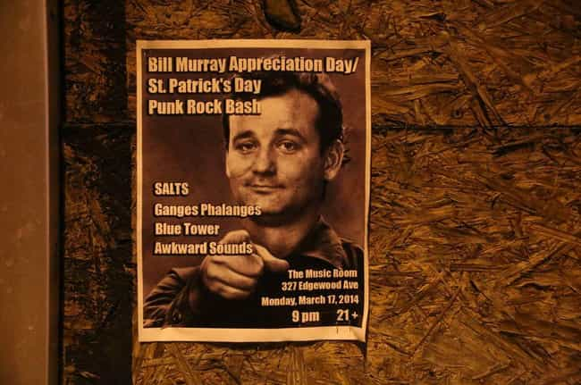 Bill Murray Pairs Up With Blon... is listed (or ranked) 5 on the list The Greatest (Real) Bill Murray Stories Ever Told