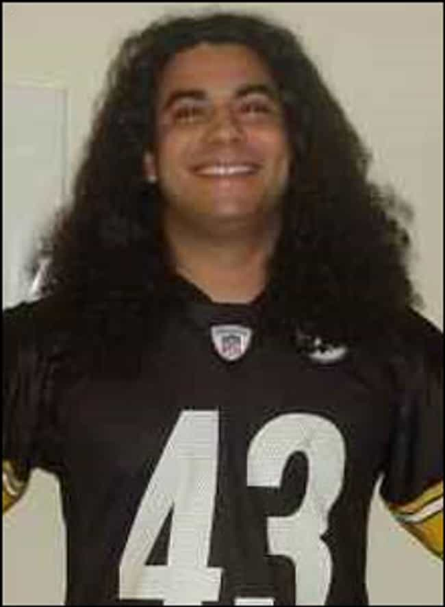 Troy Polamalu Look-Alike... is listed (or ranked) 2 on the list Insane People Who Sold Their Bodies for Super Bowl Tickets