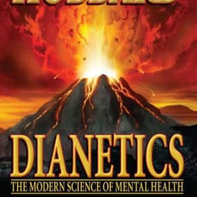 Dianetics is listed (or ranked) 20 on the list 90+ Controversial Banned Books