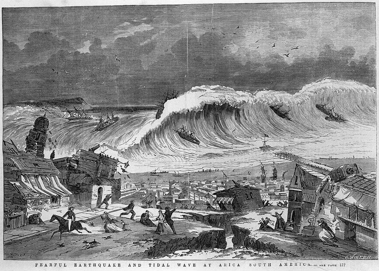 worst tsunami in history list tsunamis with