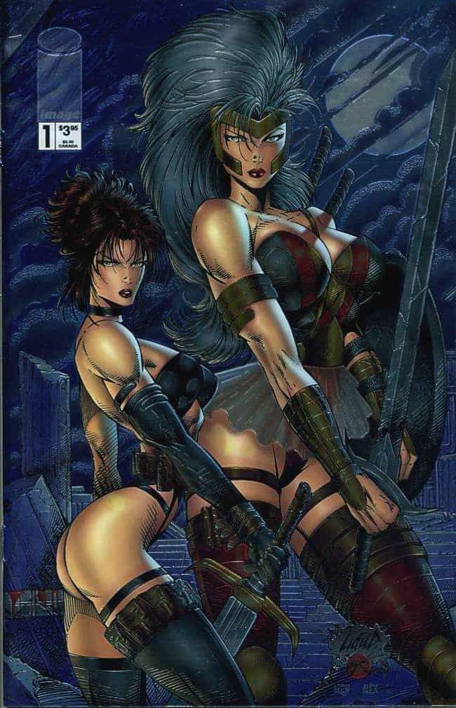 Wasp Women is listed (or ranked) 2 on the list The Worst (Best!) Rob Liefeld Covers