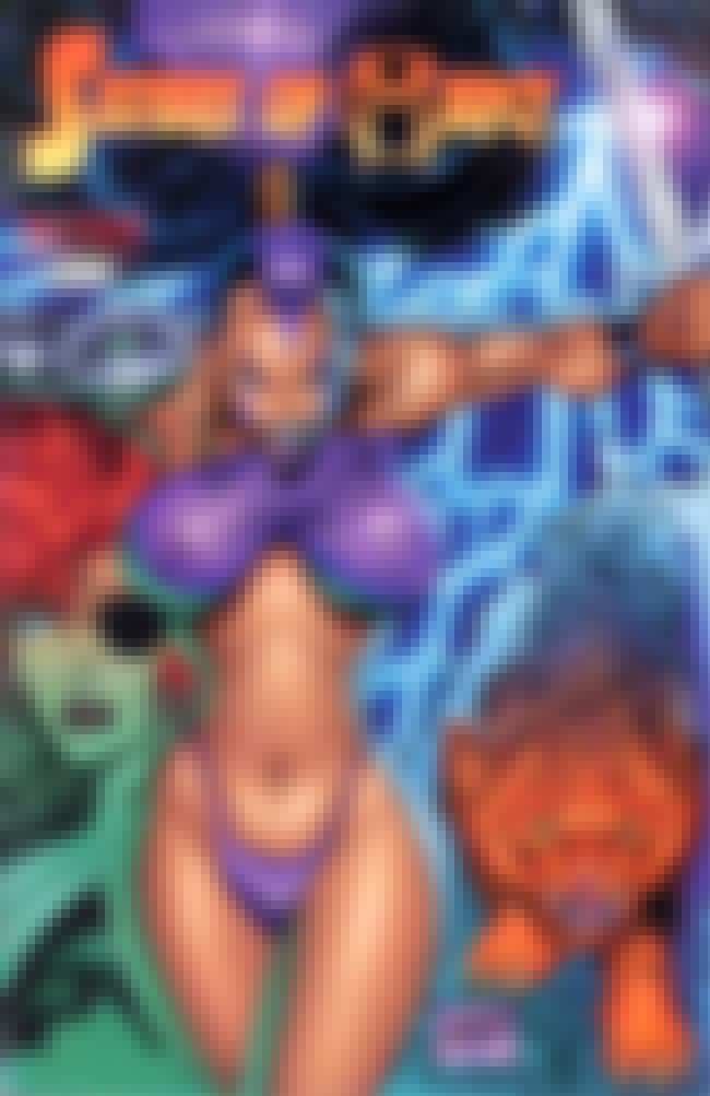 Pouches is listed (or ranked) 8 on the list The Worst (Best!) Rob Liefeld Covers