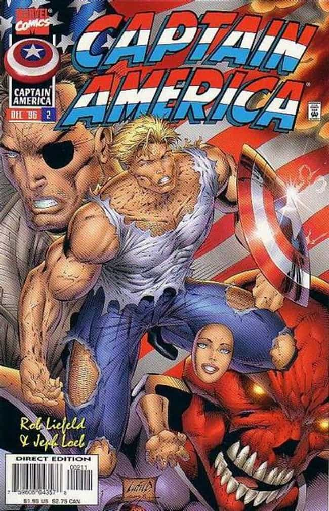 I Sense A Stroke Coming On... is listed (or ranked) 4 on the list The Worst (Best!) Rob Liefeld Covers