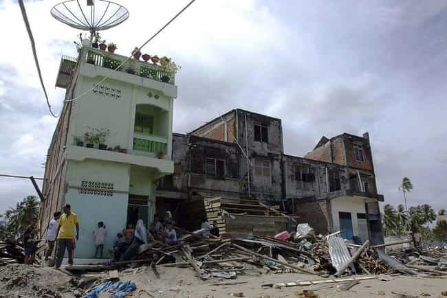 2010 Sumatra Earthquake/Tsunam... is listed (or ranked) 13 on the list The Worst Tsunamis in History