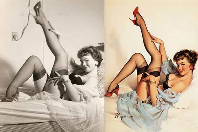 This Pin-Up Girl is Also a Yog... is listed (or ranked) 2 on the list 15 Pin-Up Girls: Models Vs Drawn