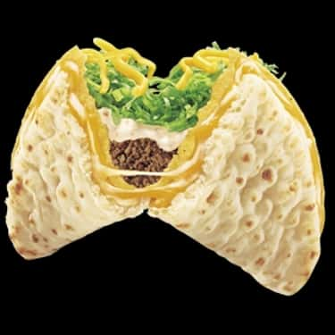 Cheesy Gordita Crunch is listed (or ranked) 1 on the list Taco Bell Secret Menu Items