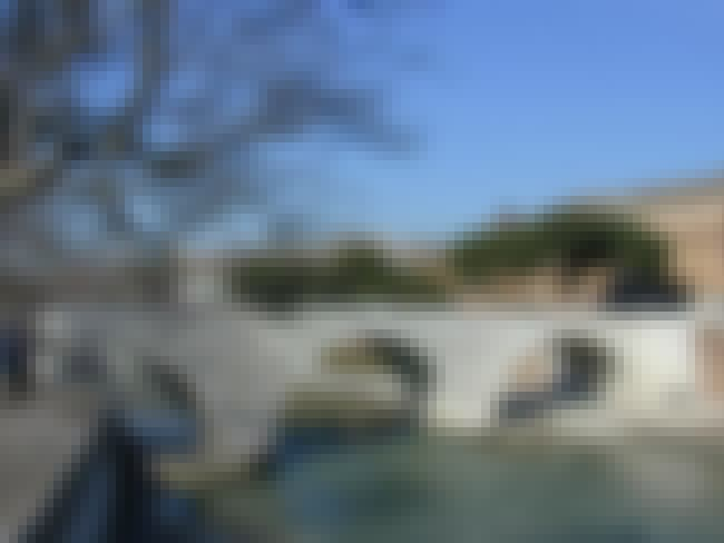 Ponte Cestio is listed (or ranked) 7 on the list Bridges in Italy