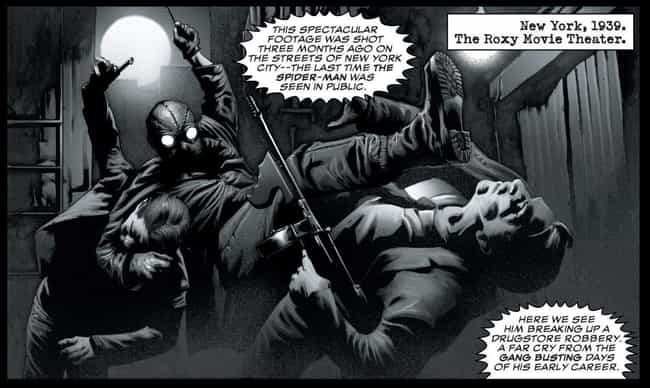 Noir Spider-Man is listed (or ranked) 4 on the list The Greatest Spider-Man Costumes of All Time