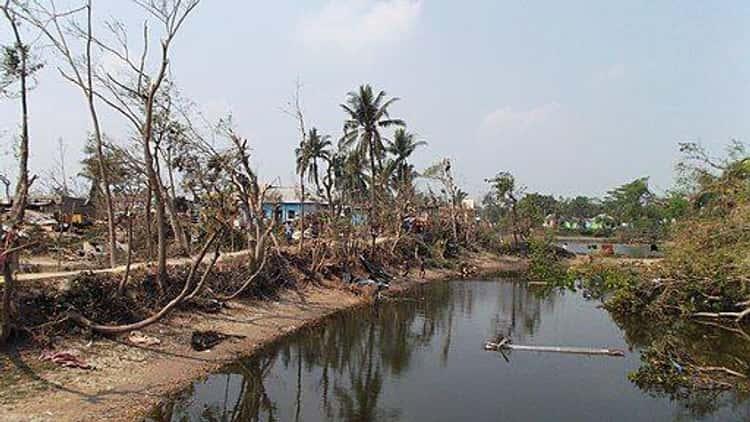 The Daulatpur-Saturia Tornado