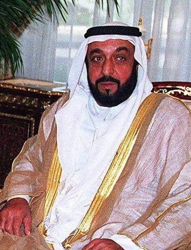 Khalifa bin Zayed Al Nahyan is listed (or ranked) 4 on the list Richest Royals in the World